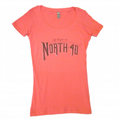 North 40 Ladies Hot Pink Scoop Neck Tee