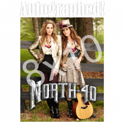 North 40 AUTOGRAPHED 8x10