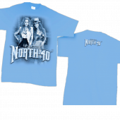 North 40 Carolina Blue Tee