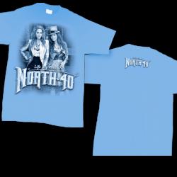 North 40 Carolina Blue Tee